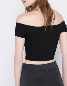 BOATNECK TOP - NEW PRODUCTS - WOMAN - PULL&BEAR United Kingdom