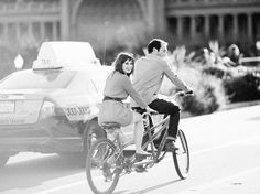 Tandem biking in Golden Gate Park, photo: Christina McNeill