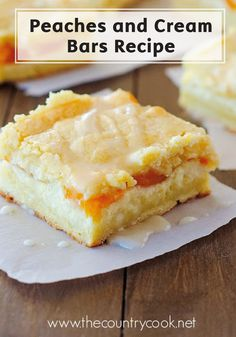 Layers of pie crust and cheesecake come together with fresh, juicy peaches and a delicious glaze to create these Peaches and Cream Bars! Quick and easy, this delightful sweet treat is the perfect summertime dessert recipe. Finger-licking good, Bounty Paper Towels are always there to help keep your hand clean and stick-free.