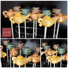 Here's some copper and gold genie lamps we've made especially for Gate Gourmet Australia's Arabian Night event!   Hope everyone has a magical weekend!  x Nicole
