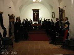 Salon principal donde se juró la Constitución Argentina por primera vez en 1853.Las figuras de los constituyentes están realizadas en cera.Se impactará con la escena.