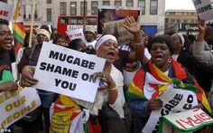 ROBERT MUGABE: 'BLACK PEOPLE MUST STOP WORKING FOR WHITE PEOPLE'