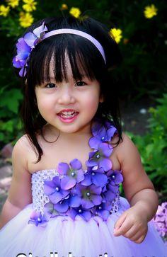 Flower girl dress Ivory with ivory flowers Tutu Dress.. baby tutu dress, toddler tutu dress, wedding, birthday