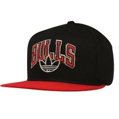 adidas Chicago Bulls Fashion Snapback Hat - Black/Red by adidas. $24.95. Structured fit. Quality embroidery. Flat bill. Adjustable plastic snap strap. Felt applique detailing. adidas Chicago Bulls Fashion Snapback Hat - Black/RedOfficially licensed NBA productFelt applique detailingAdjustable plastic snap strapStructured fitFlat billOne size fits mostQuality embroidery100% CottonImported100% CottonStructured fitQuality embroideryFelt applique detailingAdjustable plastic...