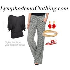 Lymphodemaclothing- apparel by styleq on Polyvore featuring Splendid, Ancient Greek Sandals, Oscar de la Renta and Madewell