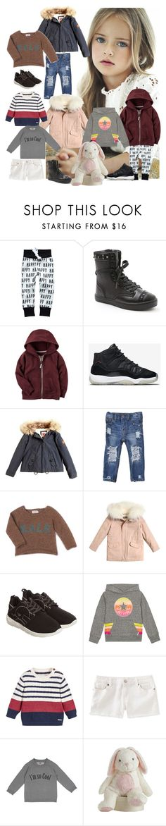 """""""Rebecca Grace G"""" by lilynnguyen on Polyvore featuring Baby Jogger, NIKE, American Outfitters, Kale, Yves Salomon, Armani Junior, Converse and Numaé"""