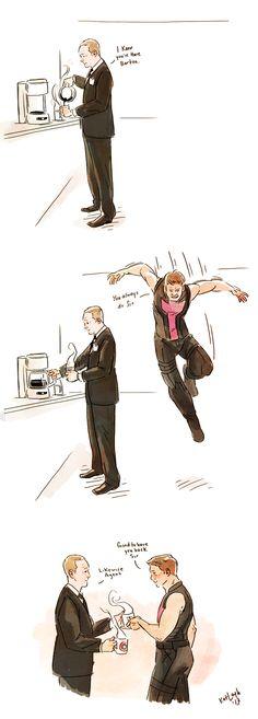 Fuck Yeah Clint/Coulson: Photo
