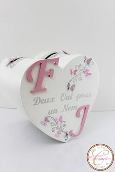 Items similar to Butterfly theme pink, white and silver wedding urn. on Etsy - - Items similar to Butterfly theme pink, white and silver wedding urn. on Etsy - - Pink Wedding Dresses, Wedding Dress Trends, Web Box, Butterfly Wedding Theme, Wedding Boxes, Romantic Gifts, Pink White, Place Card Holders, Etsy