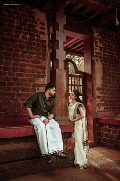 Kerala Husband and Wife Post wedding shoot Indian Wedding Couple Photography, Wedding Couple Poses Photography, Couple Photoshoot Poses, Wedding Photoshoot, Wedding Couple Pictures, Romantic Couple Images, Pre Wedding Shoot Ideas, Pre Wedding Poses, Post Wedding