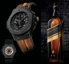Hublot Big Bang Aero Johnnie Walker Whisky Limited Edition Watch watch releases