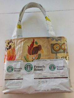 For a while now I've been saving the packaging from my Starbucks coffee beans. I buy coffee at Costco in 40 oz bags , so after I ...