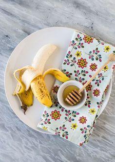 This banana and honey hair mask will repair your hair.