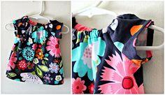 patrones vestido para bebé de 0 a 3 meses