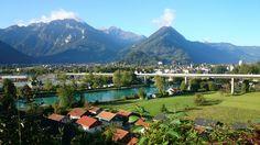 The mountains- Interlaken