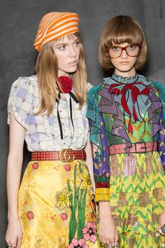 Gucci at Milan Spring 2016 (Backstage)