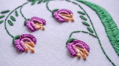 DIY Embroidery Ideas | Stitching Flower Design by Hand | HandiWorks #81