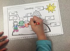 Jack and Jill labeling freebie.  Part of sub tub activities that are great to have available for an unexpected absence.