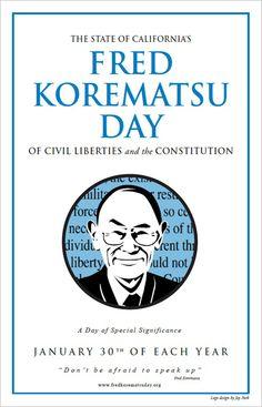 Fred Korematsu Day 1/30