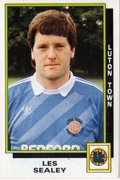 Uk Football, Football Cards, Baseball Cards, Luton Town Fc, Manchester United Soccer, Goalkeeper, Back In The Day, Trading Cards, England