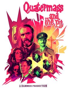It's QUATERMASS AND THE PIT! (Poster by Daryl Joyce)