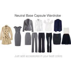 Neutral Base Capsule Wardrobe