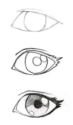 New Eye Drawing Sketches Easy Ideas Pencil Art Drawings, Art Drawings Sketches, Cartoon Drawings, Cool Drawings, Sketch Drawing, Drawing Art, Pencil Sketching, Eye Sketch, How To Sketch Eyes