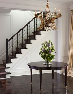 stair and black pickets