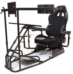 Volair Sim flight racing sim seat is an affordable universal flight and racing chassis factory pre-configured for Logitech, Saitek, and more! Flight Simulator Cockpit, Racing Simulator, Gaming Computer Setup, Computer Workstation, Gamer Chair, Best Flights, Home Entertainment, Kids Furniture, Game Room