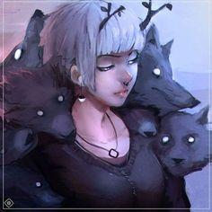 Death #death #die #wolf #sketch #sketchbook #lobos #wolf #die #art #arts #artist #artists #painting #paint #paints #colorful #purple_eyes #eyes #sexy #