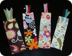 Project Inspiration: Scrap Savvy Bookmark Tutorial