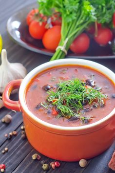 Black Bean Vegetable Soup Recipe