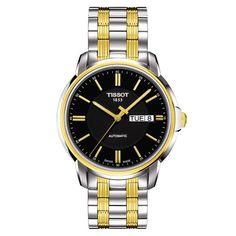 6a3abf4ba7c Automatic III Black Dial Two-tone Bracelet Men s Watch