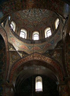 Echmiadzin Cathedral, Interior, Armavir, Armenia by David, via Flickr