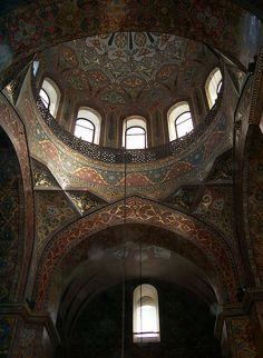 Echmiadzin Cathedral, Interior, Armavir, Armenia by David, via Flickr