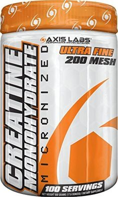 Axis Labs Creatine Monohydrate Mineral Supplement, 500 Grams by Axis Labs -- Awesome products selected by Anna Churchill