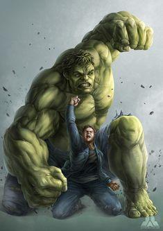 Avengers: Infinity War - Hulk & Bruce Banner - Bruce Banner & The Hulk Marvel Avengers, Marvel Comics, Marvel Comic Universe, Marvel Heroes, Marvel Characters, Ms Marvel, Captain Marvel, Drawing Marvel, Arte Do Hulk