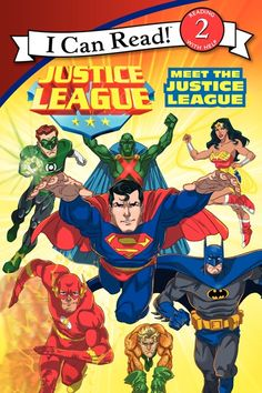 Meet The Justice League I Can Read Book 2