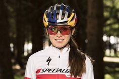 Kate rides for the Specialized Factory Team