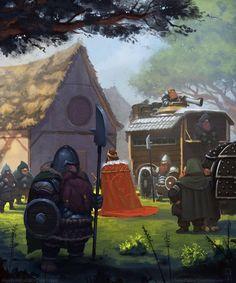 Dwarves; Morins Corner by AlexKonstad.deviantart.com on @DeviantArt
