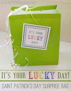 Saint Patricks Day Surprise Bag: Its Your Lucky Day
