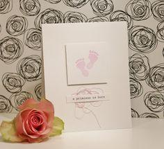 Scrapat helt enkelt: A princess is born! CAS Cards