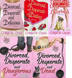 DIVORCED, DESPERATE AND DEAD Series by Christie Craig on StoryFinds  - Spotlighting @Christie_Craig Burned by love or ready again? #Romance ow.ly/ETOJP