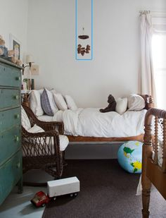 Cute Bed and Dresser