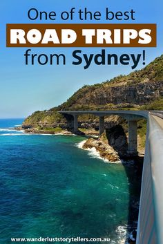 Experience on of the best road trips from Sydney!  Sydney to Kiama including a stop at the Sea Cliff Bridge Lookout!