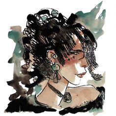 Hugo Pratt - Corto Maltese: Tango (1987) Maltese, Hugo Pratt, Fable, Fun Comics, Art Graphique, Comic Book Artists, Watercolor Paintings, Watercolour, Art Inspo