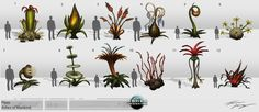 avatar plant concept art - Google Search