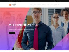 Muscat – creative agency free HTML template is an exciting and modern HTML template developed for Creative Agency and People. This template is designed using HTML5, CSS3 and compatle with all web, mobile and tablet. Impress your potential clients with this template design!