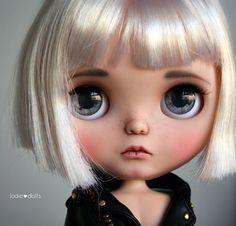Mika ^^ #custom #blythe #doll #artdoll #toy #japan #bigeyes #jodiedolls #puppelinaeyechips