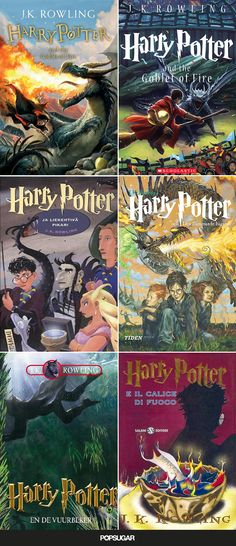 See 100+ Magical Harry Potter Book Covers From Around the World