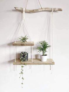 Macrame Plant Hanger Patterns, Macrame Wall Hanging Diy, Macrame Art, Macrame Projects, Macrame Patterns, Macrame Plant Hanger Diy, House Plants Decor, Plant Decor, Plant Wall Diy